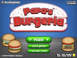 Play Papa's Burgeria Game