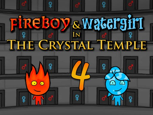 Play Fireboy and Watergirl 4 Crystal Temple Game