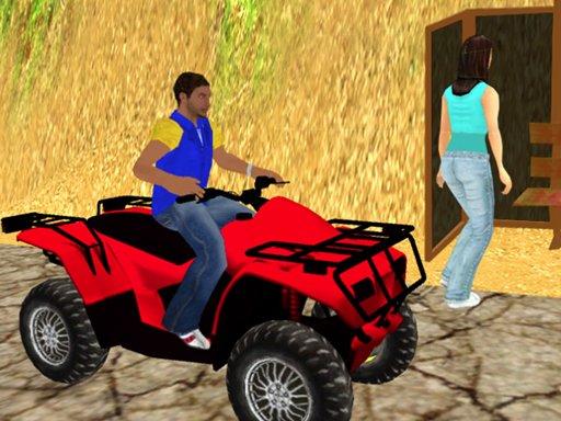 Play Traffic Racer Quad Bike Game