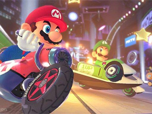 Play Super Mario Run Race Game