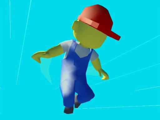 Play Parkour Run 3D.IO Game