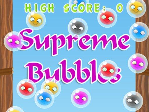 Play Supreme Bubbles Game