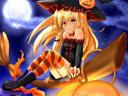Play Anime Halloween Jigsaw Puzzle 2 Game