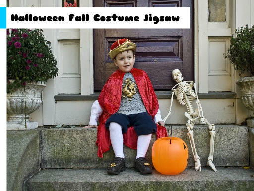 Play Halloween Fall Costume Jigsaw Game