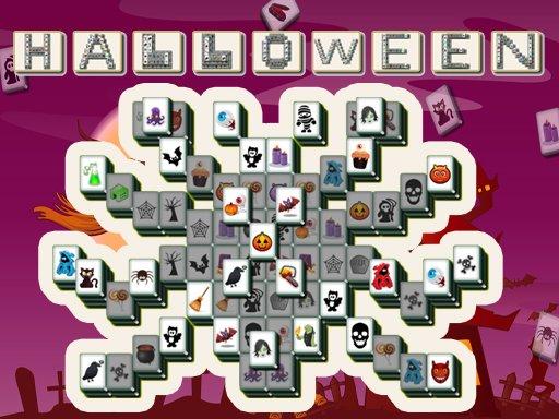 Play Halloween Mahjong Deluxe Online Game