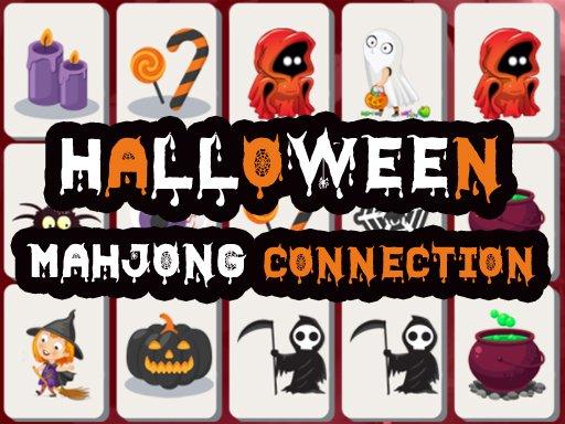Play Halloween Mahjong Connection Game