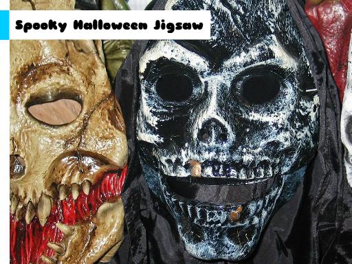 Play Spooky Halloween Jigsaw Game