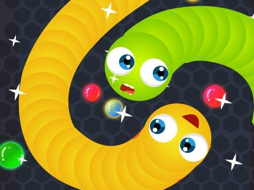 Play Snake.IO : Angry Slither Worm Game