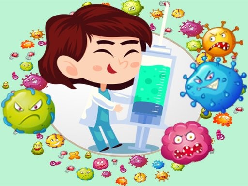 Play Virus Bubble Shooter Game
