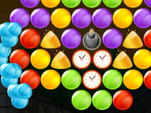 Play Bubble Shooter Gold Mining Game