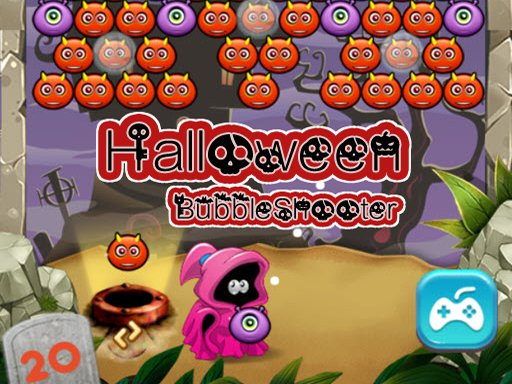 Play Halloween Bubble Shooter Online Game