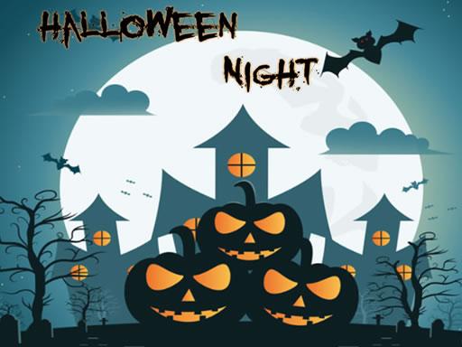 Play Halloween Night Jigsaw Game