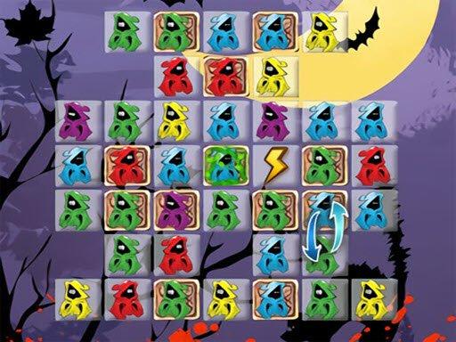 Play Halloween Match 3 Game