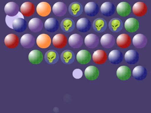 Play Aliens Bubble Shooter Game