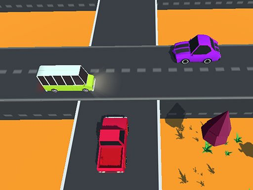 Play Highway Cross: Traffic Racing Game