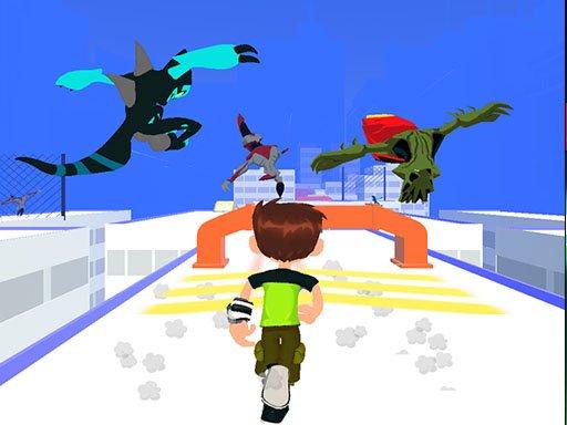 Play Ben 10 Adventure Game