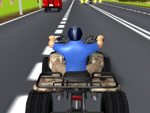 Play ATV Highway Traffic Game