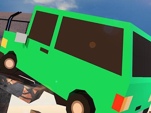 Play Broken Bridge Car Driving Game