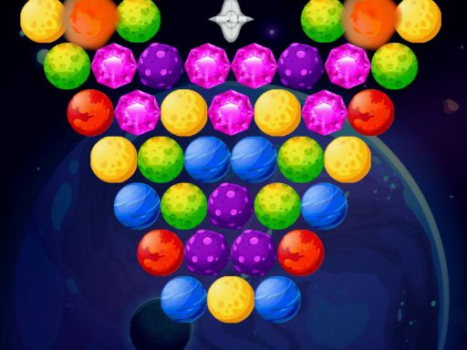 Play Bubble Shooter Planets Game