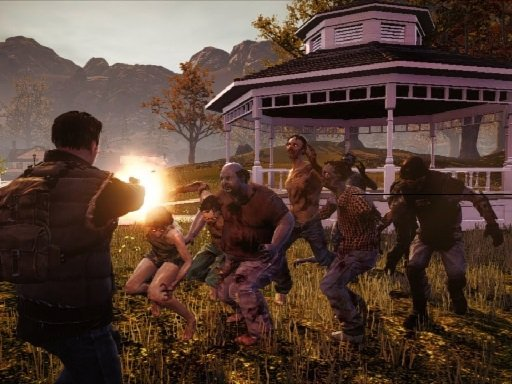 Play Shooting Combat Zombie Survival Game