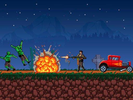 Play Drive or Die – Zombie Pixel Earn Game