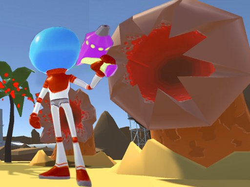 Play Survival On Worm Planet Game