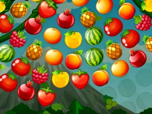 Play Bubble Shooter Fruits Wheel Game