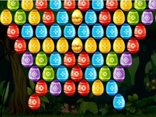 Play Bubble Shooter Easter Game
