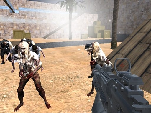 Play Combat Strike Zombie Survival Multiplayer Game