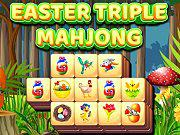 Play Easter Triple Mahjong Game