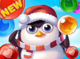 Play Bubble Penguins Game