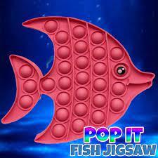 Play Pop It Fish Jigsaw Game