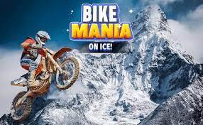 Play Bike Mania 3 On Ice Game