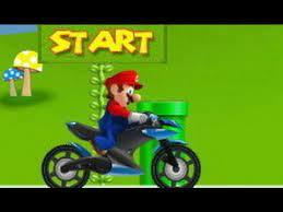 Play Super Mario Motor Run Game
